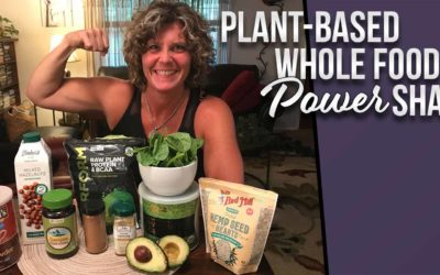 Plant-based, Whole-food Power Shake for Heart Health, Immune Building and Quick Recovery.